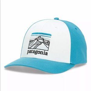 NWT Patagonia Line Logo SnapBack Hat